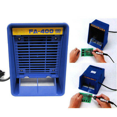 220V Portable FA400 Solder Smoke Absorber Air Filter Fume Extractor