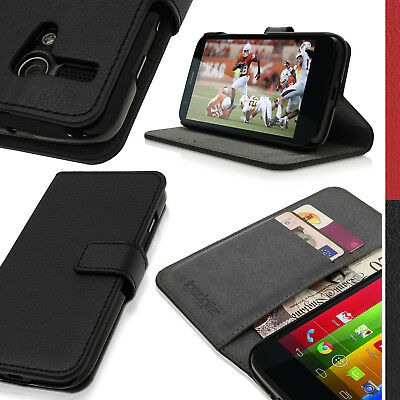 PU Leather Wallet Case for Motorola Moto G 4G 1st Gen XT1032 Flip Stand Cover
