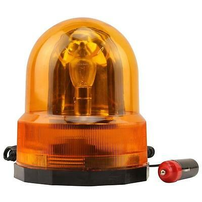 CAR BREAKDOWN AMBER FLASHING REVOLVING ORANGE BEACON RECOVERY LIGHT MAGNETIC 12v