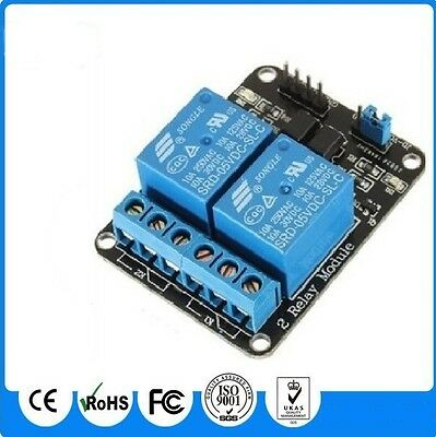 3.3V / 5V Opto Isolated 2 x Relay Board - For Arduino - AVR Microchip Raspberry
