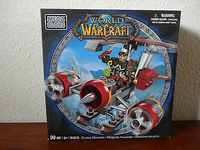 World of Warcraft - Mega Bloks - Flying Machine - 90 Pieces - 91018