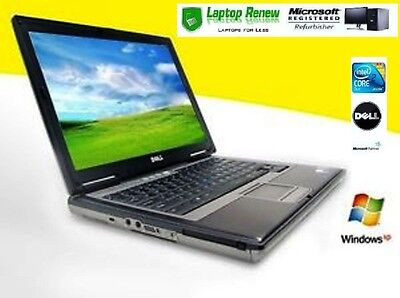 Dell Laptop Duo Core Windows XP PRO 1 YR WTY NEW BATTERY RS232 Serial Com Port