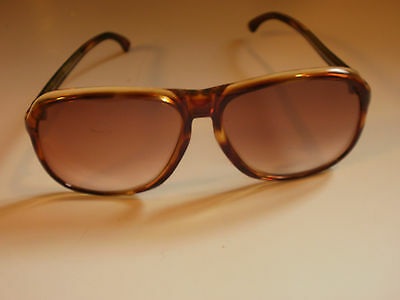 Large Tortoise Sunglasses 50's-60's MID CENTURY MODERN - Made in Germany