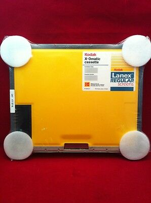 NEW KODAK CASSETTE C-1 X-OMATIC LANEX REGULAR SCREENS 24 X 30 cm CAT 177 0718
