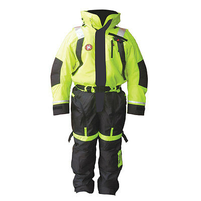First Watch Anti-Exposure Suit Xl Hi-Vis Yellow [As-1100-Hv-Xl]