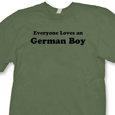 2a22e6ac9a Everyone Loves A German Boy T-shirt Funny Heritage Germany Gift Tee Shirt