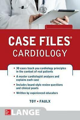 Case Files Cardiology by Eugene Toy (English) Paperback Book Free Shipping!