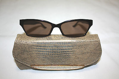 Vintage Judith Leiber Sunglasses with Rhinestones and Glasses Case