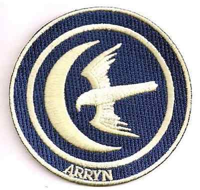 Game of Thrones House of Arryn Embroidered Patch - New