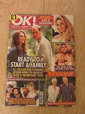 OK Magazine No 847 - Prince William & Catherine, Robbie Williams & Baby