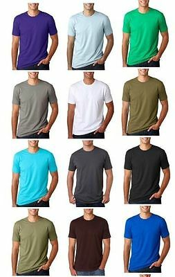 Next Level Men's Crewneck Premium Fitted Short Sleeve Crew Mens Tee shirts 3600