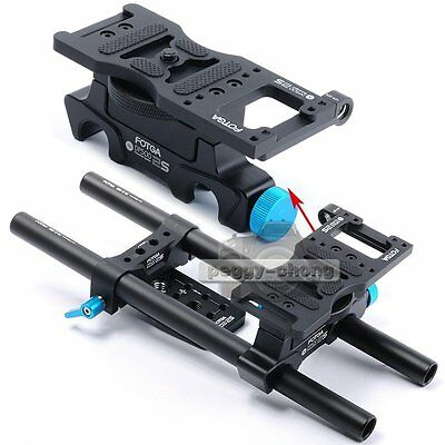 FOTGA DP500II15mm Rod Rail Rig Support System Baseplate For Follow Focus【US】