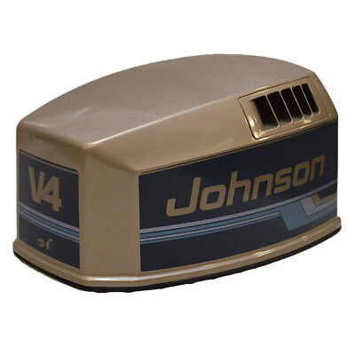 Johnson Brp / Omc 115 V4 Fiberglass Outboard Boat Motor / Engine Top Cowling