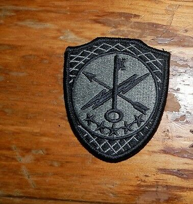 ARMY PATCH, SSI, 780TH MILITARY INTELLIGENCE BRIGADE, ACU,WITH VELCRO