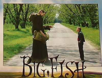 BIG FISH - 11x14 US Lobby Cards Set of 10 - Tim Burton, Alison Lohman