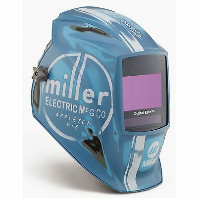 Miller 259485 Vintage Roadster Digital Elite Auto Darkening Welding Helmet