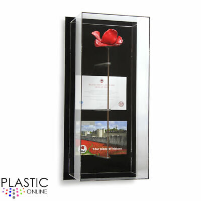 Tower Of London Poppy Display Case Model S Wall Mounted