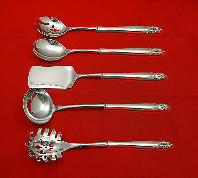 King Christian by Wallace Sterling Silver Hostess Set 5pc HHWS  Custom Made
