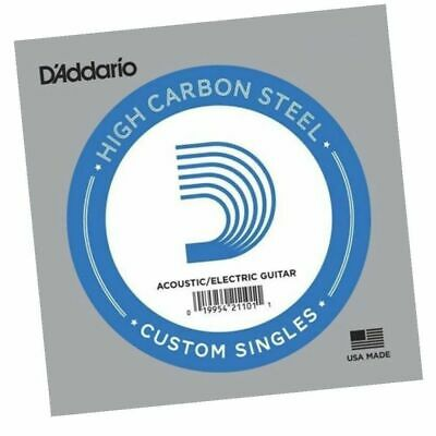 D'Addario PL013 single plain steel Electric / Acoustic Guitar string Gauge 13