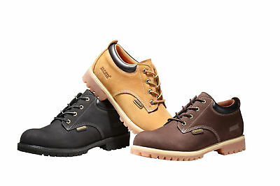 Men's Work Boots Shoes Short With Genuine Leather Water Resistant 7006