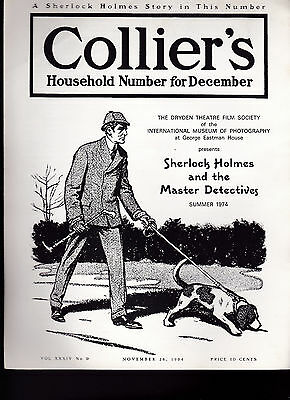 Sherlock Holmes & the Master Detectives Summer 1974 Ad Brochure