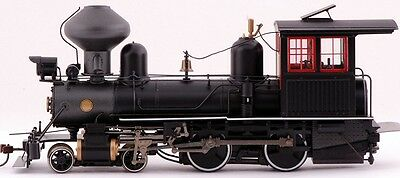 Bachmann On30 Scale Train 4-4-0 DCC Equipped Black with Wood Cab 28322