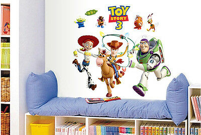 TOY STORY BUZZ LIGHTYEAR Removable Vinyl  Art Mural Home Decor Room Wall Sticker