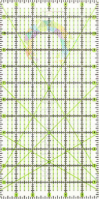 "12"" x 6"" Quilting Patchwork Ruler Premium Rotary Craft Rectangle Imperial"