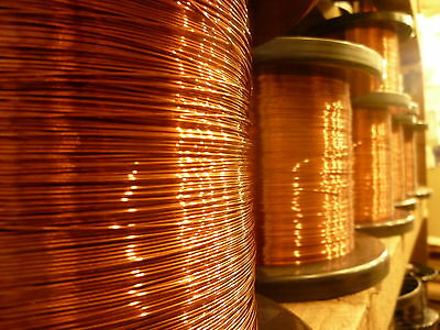 0.25mm ENAMELLED COPPER, MAGNET WIRE, 1 METER LENGTH