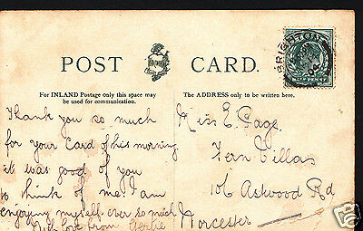 Genealogy Postcard - Ancestor History - Page or Cage - Norcester  A9261