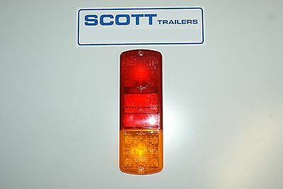 Ifor Williams Britax Combination lamps lens for rear light.