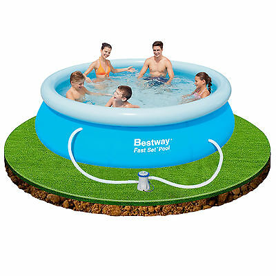 Bestway 10ft x 30in Fast Set Swimming Pool with Filter Pump #57270