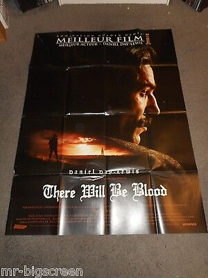 There Will Be Blood - Original Huge French Poster -  Daniel Day-Lewis - 2007