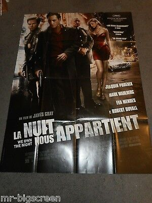 We Own The Night - Original Huge French Poster - Joaquin Phoenix - 2007