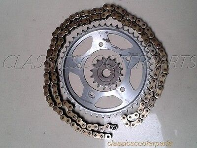 Yamaha 1999-2002 R6 drive sprockets chain missing master link y9902-yzf600-087
