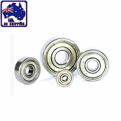 2pcs Rubber Sealed Ball Bearing Bearings 6000-6008 6200-6209 6300-6308 6021 6010