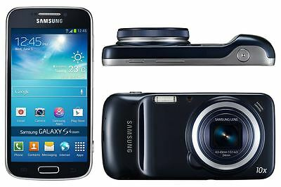 NEW Samsung Galaxy S4 Zoom 4G/LTE Sim Free Android Smartphone - Black Unlocked