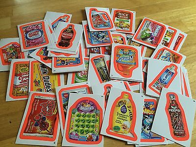 100 MINT 2012 TOPPS ANS9 SERIES 9 RED PINK PARALLEL BORDER WACKY PACKAGES PACKS