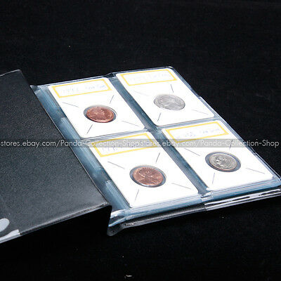 10 Pages 40 Pockets 67mm*47mm Coin holder Flip Specia Dedicatedl Store Album