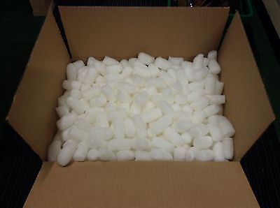 1 cu ft  Flo-Pak Polystyrene Packing Peanuts Void Fill Protection Re-usable Box