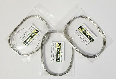 10ft Silver 3% SAC305 Kester Solder .031in 24-7068-7601 Buy2Get1FREE Made in USA
