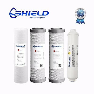 5 Stages Reverse Osmosis RO Water Filter System Replacement Cartridges Pack