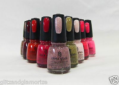 China Glaze Nail Polish Breast Cancer Awareness Colors of your choice .5oz/15ml