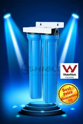 Whole House Water Filter System 20'' x 2.5'' + Filters ( 2 stages )
