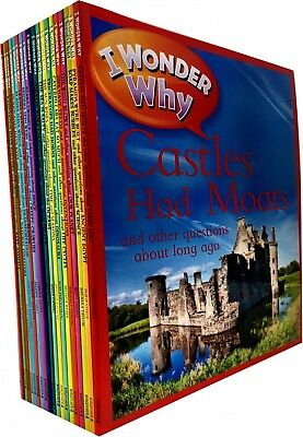 I Wonder Why Collection 20 Books Set Pack Castles Had Moats, Stars Twinkle