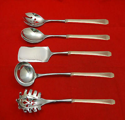 Monterey by Wallace Sterling Silver Hostess Set 5pc HHWS  Custom Made