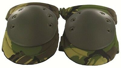 Highlander Set of 2 Hard Shell KNEE PADS Caps Cups Straps Industrial heavy duty