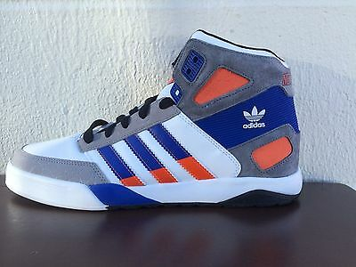 NEW MENS ADIDAS STRONGSIDE NEW YORK KNICKS SNEAKERS-BASKETBALL-VARIOUS SIZES