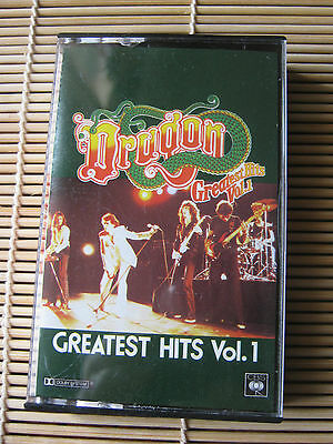 Dragon Greatest Hits Vol. 1 RETRO cassette Tape
