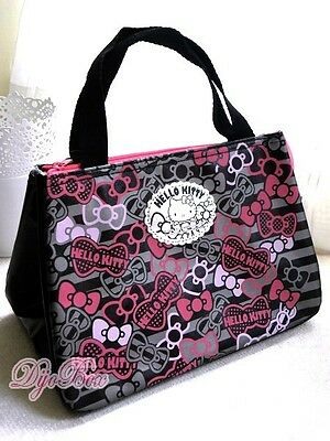 HelloKitty Fashional Insulated Lunch Box Bento Bag Cooler Warmer Tote Handbag